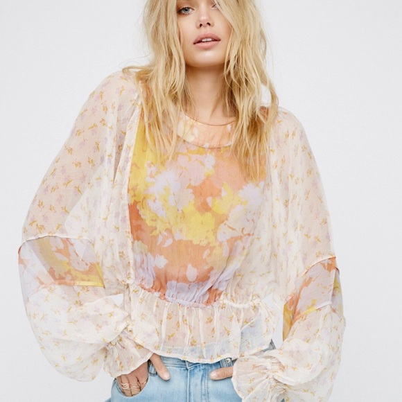 Free People Tops - Into The Wilderness Blouse by Free People
